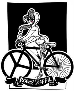 Fixie clipart spoke card