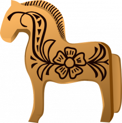 Fjord clipart Fjord Horse Clipart