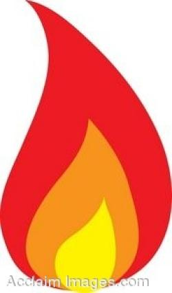 Flames clipart small