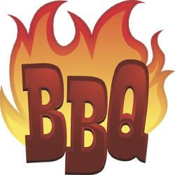 Flames clipart bbq grill