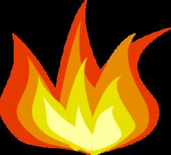 Flames clipart blaze