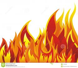 Heat clipart fire background