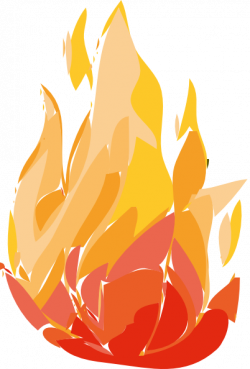 Flames clipart fire burning