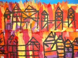 Bonfire clipart great fire london