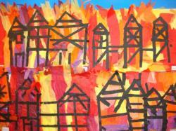 Bonfire clipart great fire london