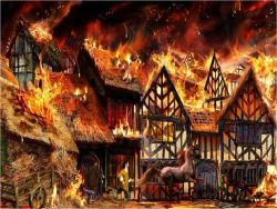 Heat clipart great fire london