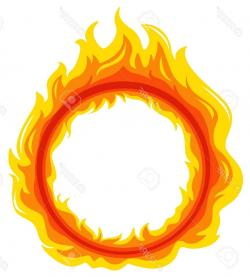 Flames clipart flame outline