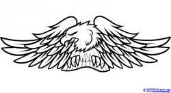 Harley Davidson clipart eagle
