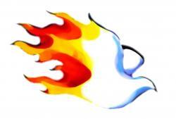 Bonfire clipart holy spirit fire