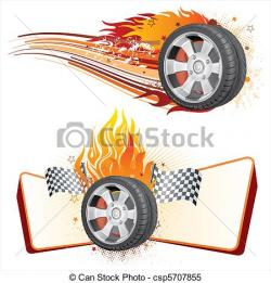Tires clipart racing