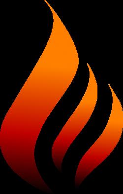 Flames clipart logo