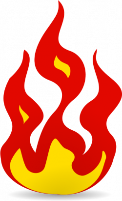 Flames clipart race car