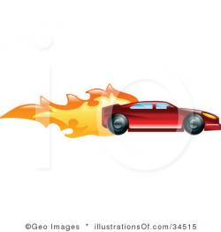 Race clipart speed car