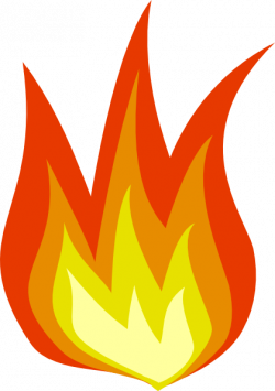 Flames clipart smoke