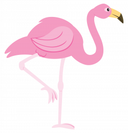 Cute clipart flamingo