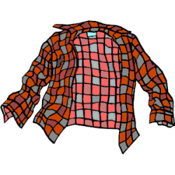 Flannel clipart
