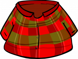Flannel clipart flannel shirt