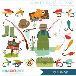 Fisherman clipart trout fishing