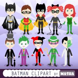 Flash clipart batman