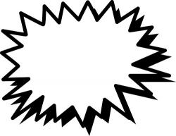 Flash clipart black and white