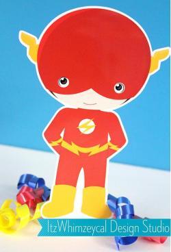 Flash clipart boy