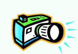 Flash clipart camara