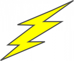 Flash clipart electric spark