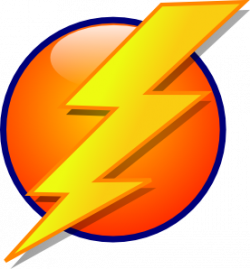 Flash clipart electrical