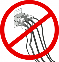 Electrical clipart safety rule