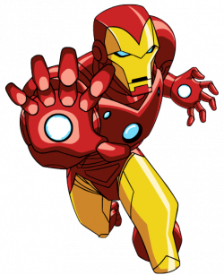Flash clipart iron man