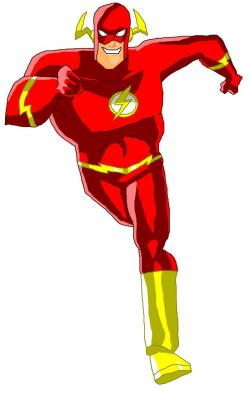 Flash clipart justice league