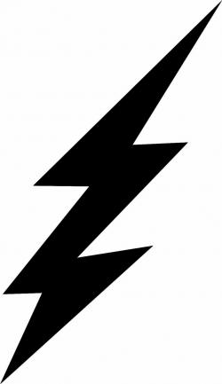 Lightening clipart vector
