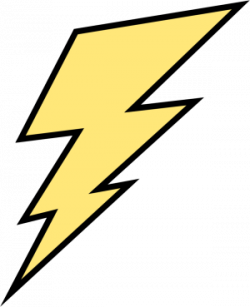 Flash clipart lightning bolt