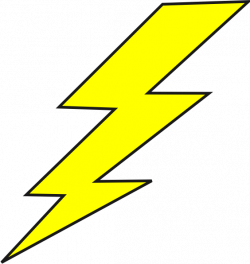 Flash clipart lightning strike