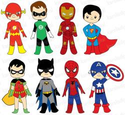 Flash clipart spiderman