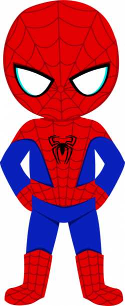 Spider-Man clipart cute