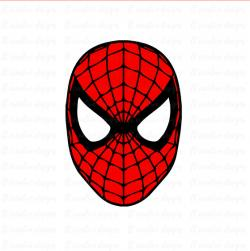 Spiderman clipart spiderman face