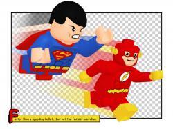Flash clipart superman