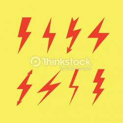 Flash clipart thunderbolt