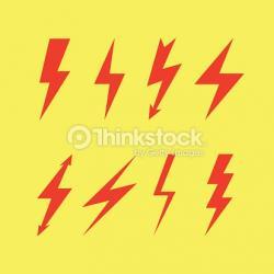 Flash clipart thunderbolt