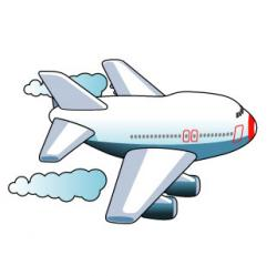Travel clipart airplane travel