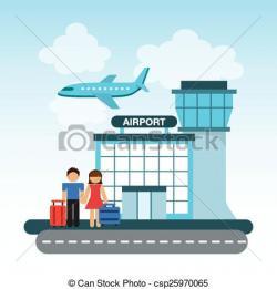Airport clipart airport terminal