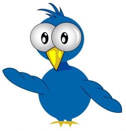 Bluebird clipart cartoon