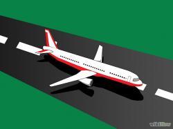 Airport clipart airplane runway