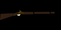 Flint Lock clipart musket
