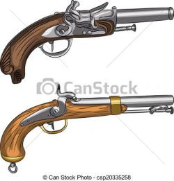 Flint Lock clipart old gun