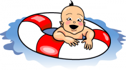 Floating clipart