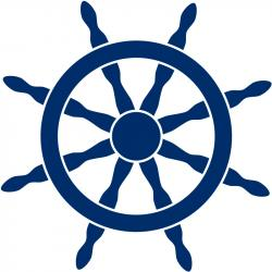 Floating clipart boat wheel