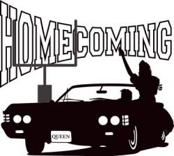 Floating clipart homecoming parade