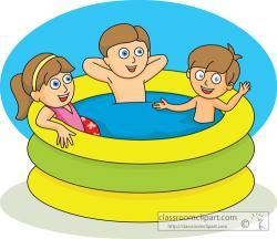 Floating clipart kiddie pool